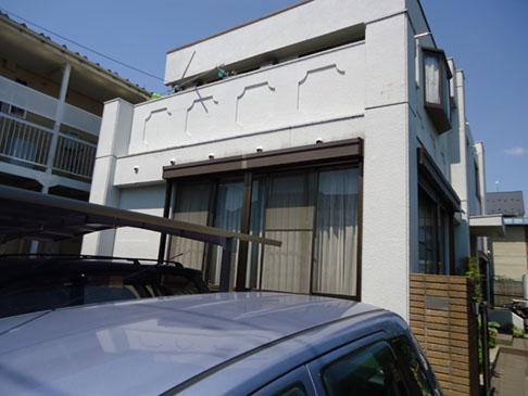 「さいたま市、U様邸 外壁塗装(パーフェクトトップ)と屋上防水。屋根塗装はルミステージ。」サムネイル