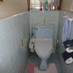 「埼玉県さいたま市でトイレのリフォーム。シャワートイレのリクシルのアステオに交換して床と壁も一新!」サムネイル