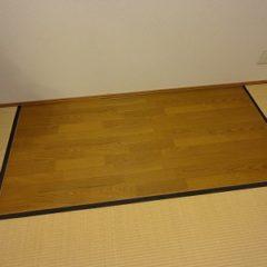 「ピアノ設置のための床補強」サムネイル