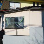 「埼玉県比企郡鳩山町でプレハブが石調の美しい外観に仕上がる多彩塗料ニューアールダンテを施工」サムネイル