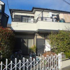 「川越市T様邸 外壁塗装:シリコン樹脂塗装、屋根塗装:シャネツロック。」サムネイル