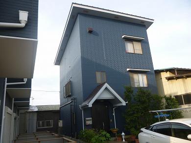 「埼玉県所沢市S様邸 外壁にパーフェクトトップ、屋根にハイパーユメロックでクールな3分艶仕上げ」サムネイル