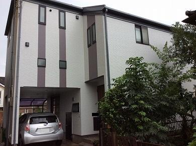 「埼玉県所沢市K様邸 外壁をパーフェクトトップ、屋根をユメロックで塗替え。ストライプでパッと目を引くアクセント」サムネイル