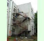 「比企郡鳩山町 非常階段塗装:HI-CRデラックス」サムネイル
