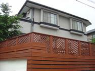 「築10年で外壁:2液形遮熱シリコン・屋根:光触媒塗装」サムネイル