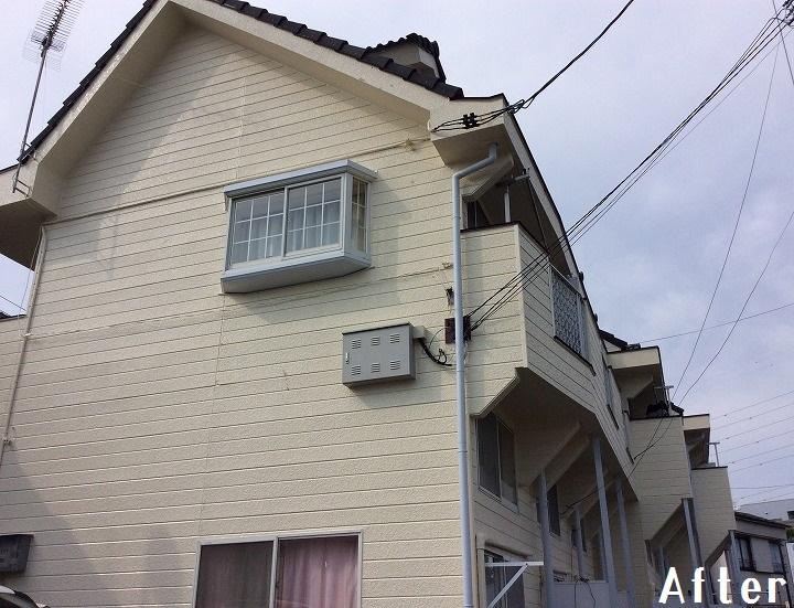 「埼玉県川口市 アパートを外壁塗装でリフレッシュ 外壁:パーフェクトトップ」サムネイル