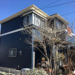 「埼玉県川越市のM様邸は外壁をアレスダイナミックTOPで屋根をファインパーフェクトベストクラシックで塗り替えて上品な配色に 」サムネイル