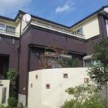 「埼玉県白岡市F様邸の外壁はアレスダイナミックTOPで2色塗り分け、不具合のあった屋根は石粒ガルバリウム鋼板のカバー工法で不安解消」サムネイル