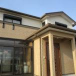「埼玉県坂戸市N様邸 屋根はガルバニウムカバー工法で葺き替え。傷んだ屋根を修復!外壁はダイナミックトップ3分艶で落ち着いた外観に」サムネイル