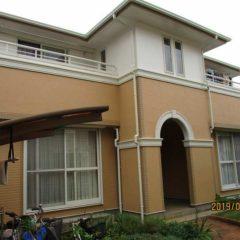 「日高市T様邸 外壁塗装:アレスダイナミックトップ、屋根塗装:ユメロック。」サムネイル