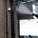 「マンションなどの外壁塗装の前に行う高圧洗浄の必要性について」サムネイル