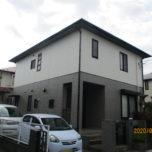 「狭山市H様邸 外壁塗装:ハイパーユメロック、屋根塗装:サンフロンUV」サムネイル